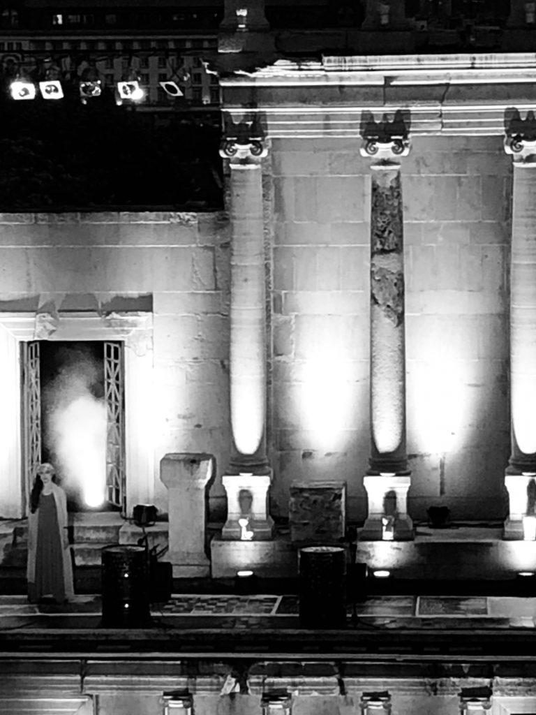 Изстъпвайки от сцената: Медея в Античния театър
