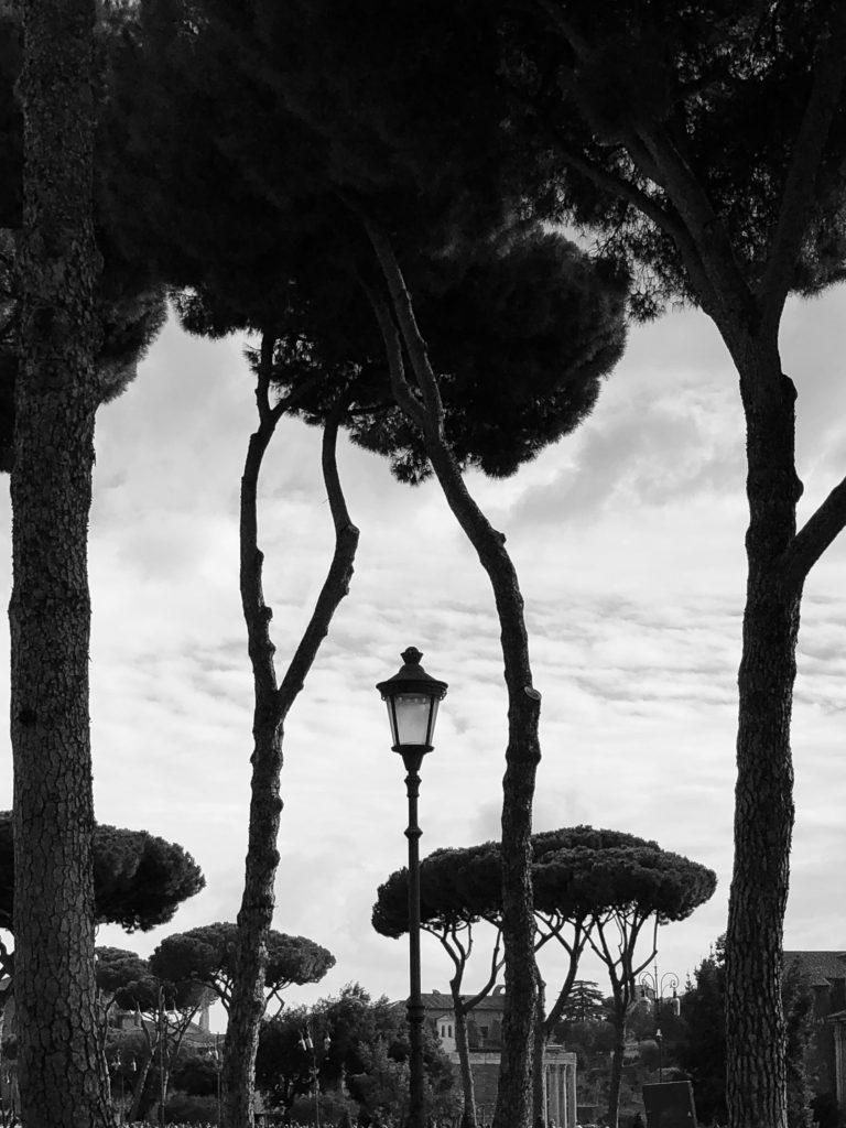 Рим в лампи